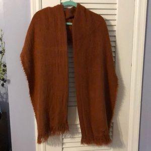 Brown scarf/wrap